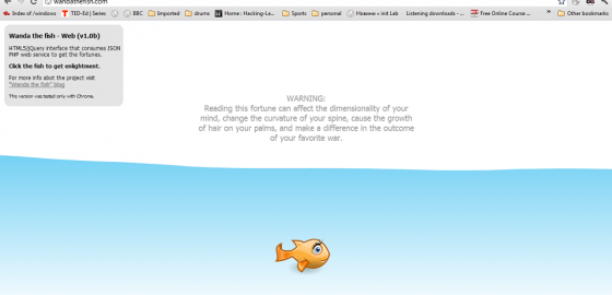 Wanda The Fish HTML5 v1.0b - screenshot